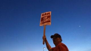 UAW on strike