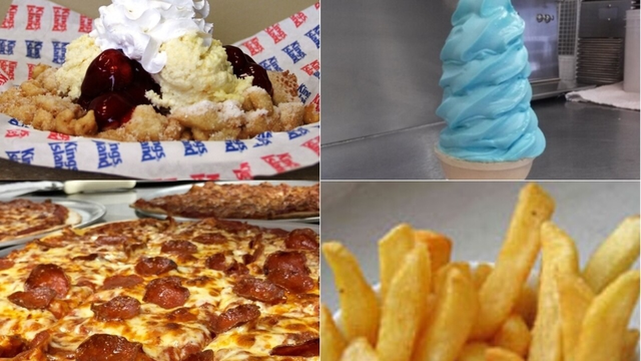 Classic Cincinnati: From blue ice cream to LaRosa's, Kings Island food stirs memories