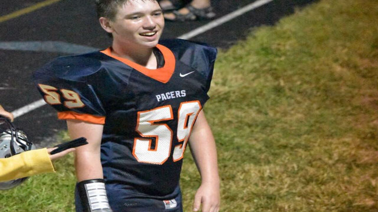 HS football player sustains major neck injury