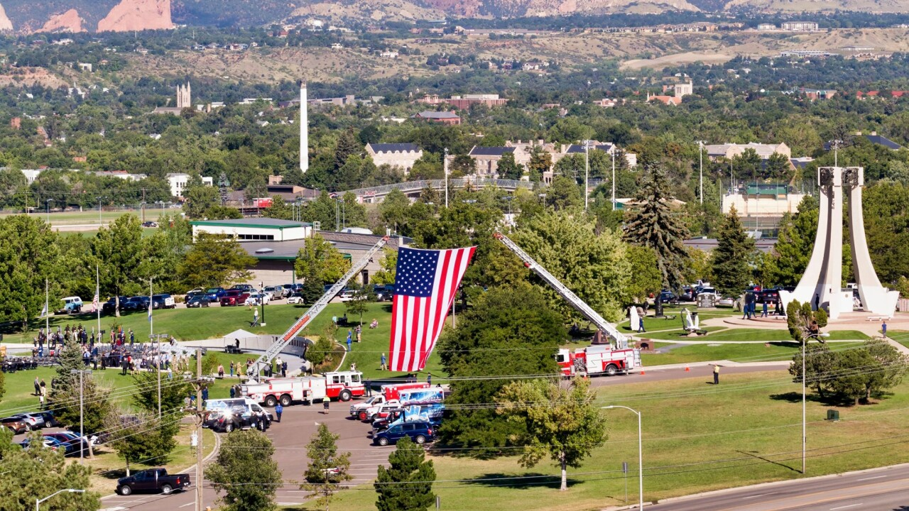 9-11 Memorial Park 2019 - Larry Marr