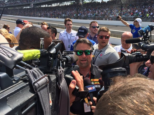 Photos of the 101st running of the Indianapolis 500