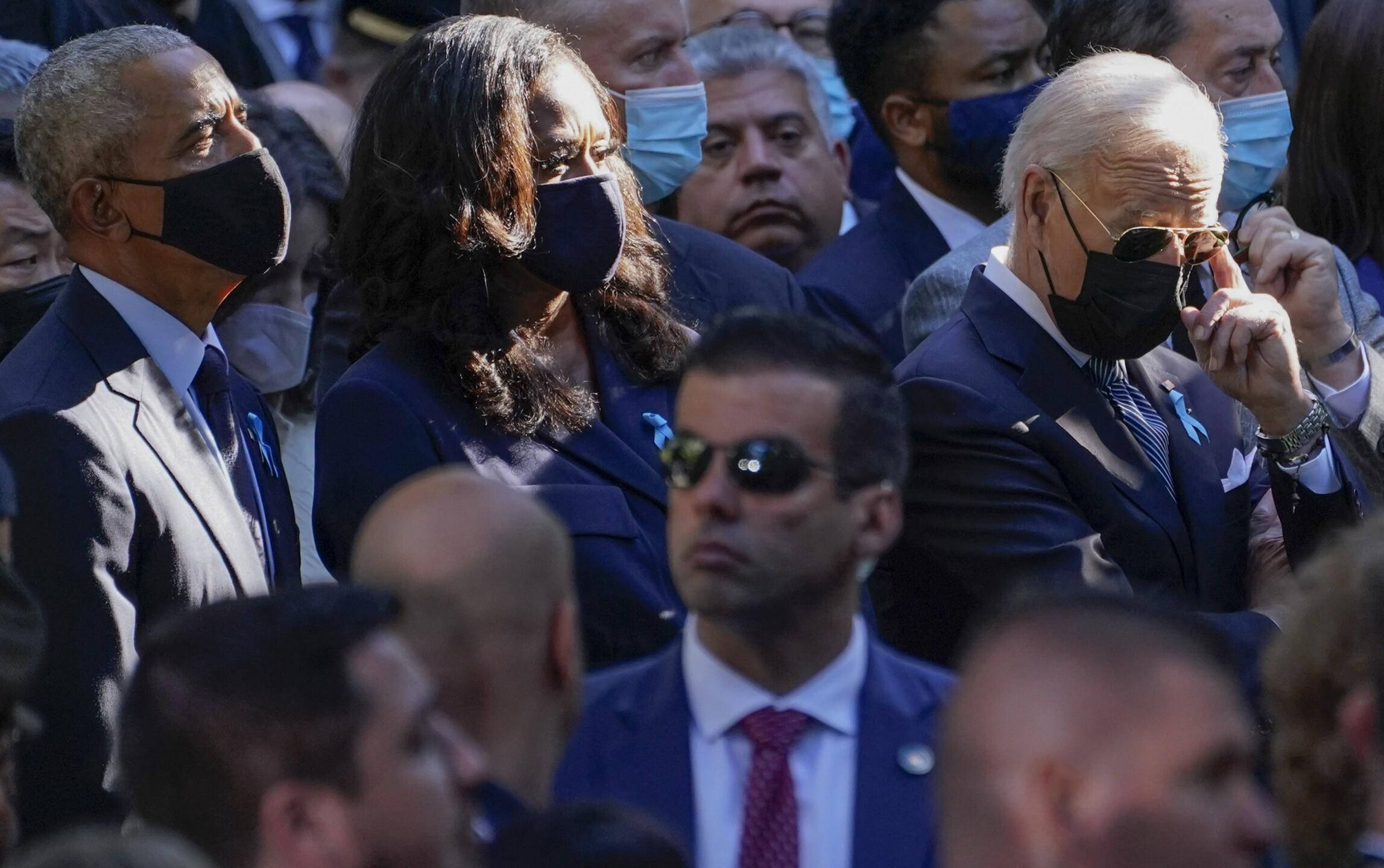 Joe Biden, Barack Obama, Michelle Obama, Jill Biden