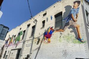 Muralist Ignacio Garcia