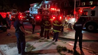 Payson Street rowhomes fire