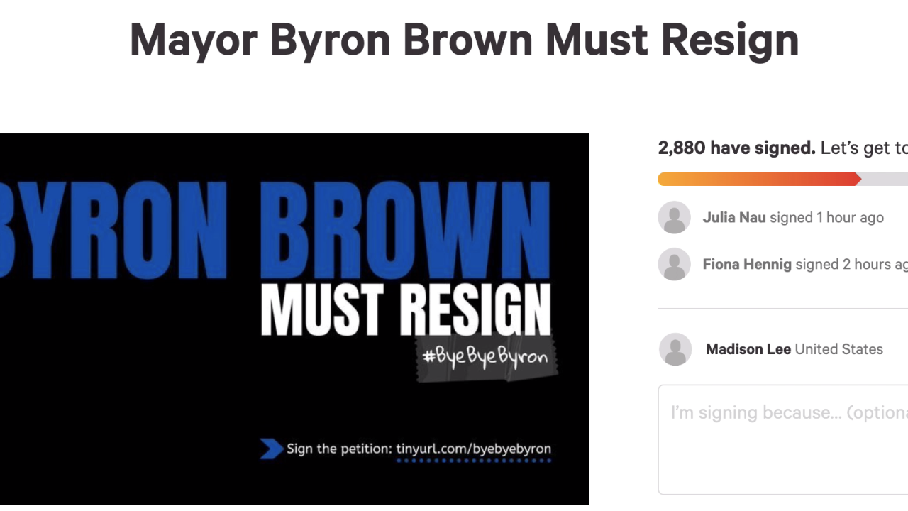 BROWN RESIGN
