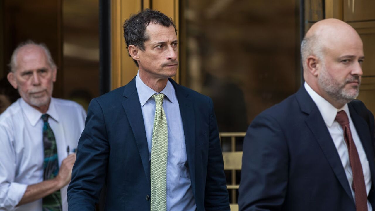 Anthony Weiner released today from prison custody