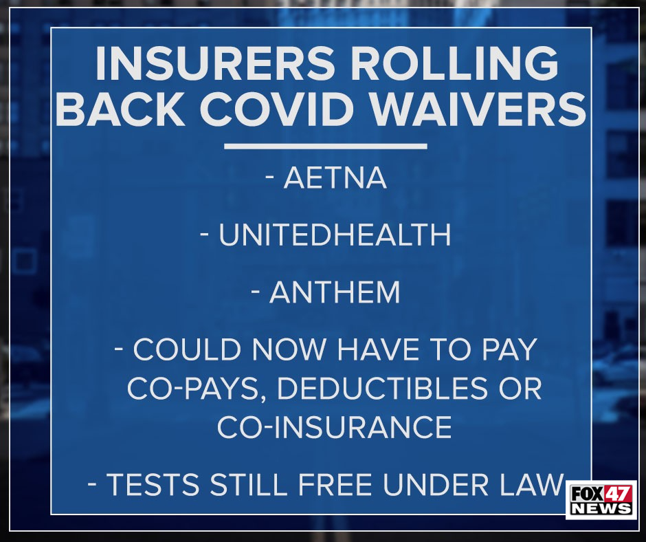 COVID Waivers rolling back