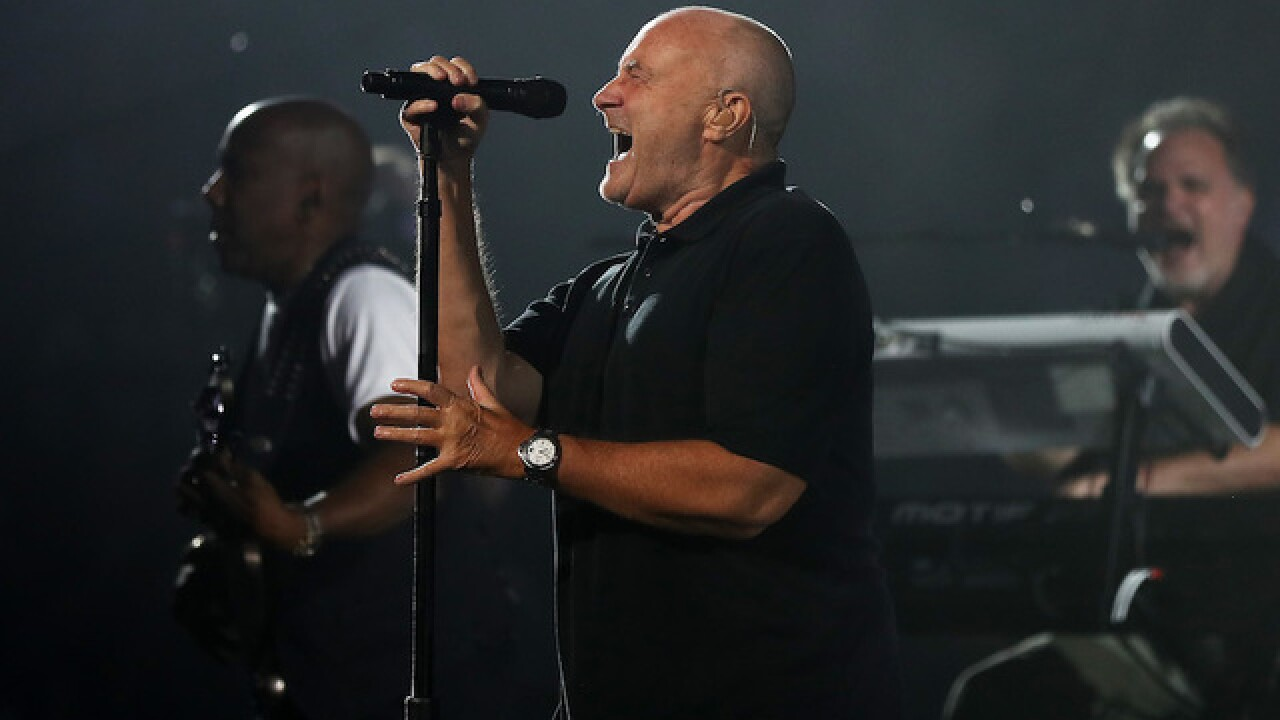Phil Collins hospitalized after fall
