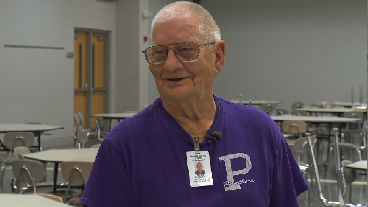 Tennessee high school surprises beloved custodian with 90th birthday party
