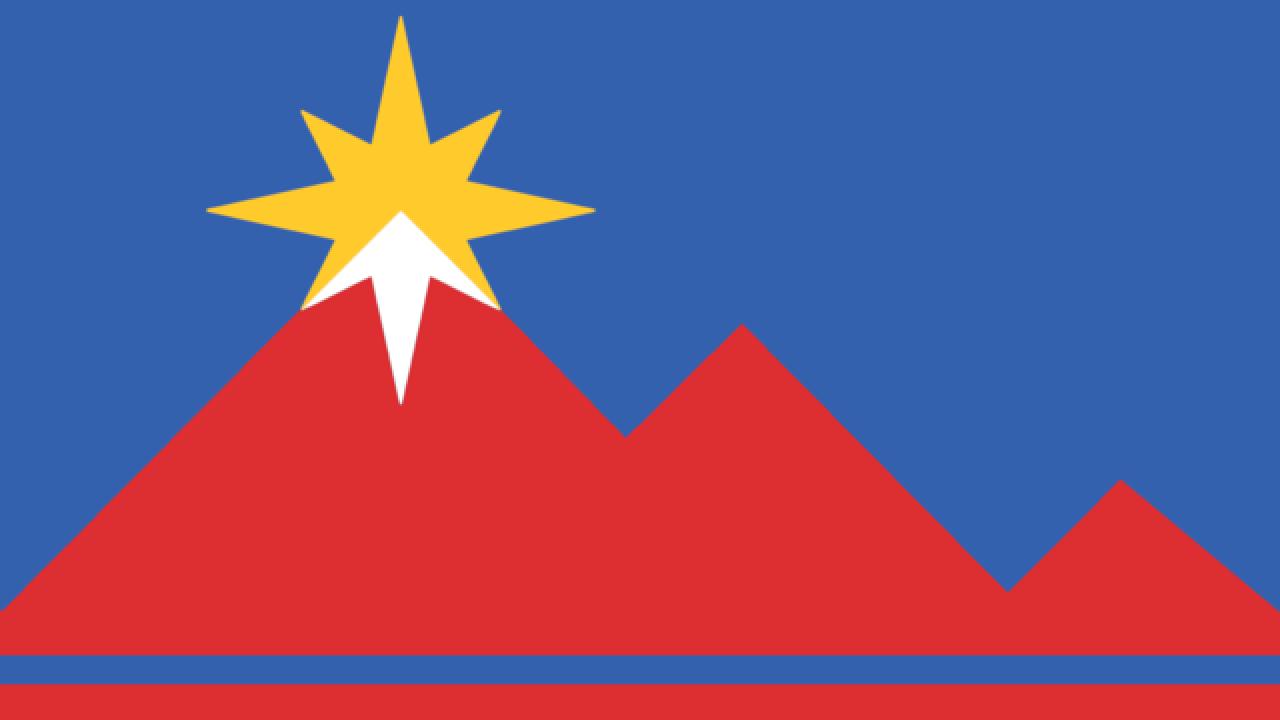 Pocatello unveils new flag design     after having the