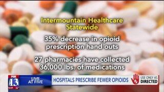 Utah County hospitals report decrease in opioid prescriptionuse