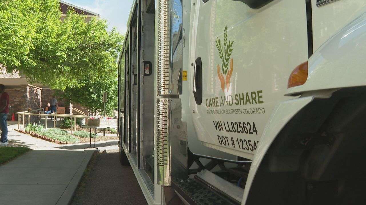 Care and Share Mobile Market serves local retirement home