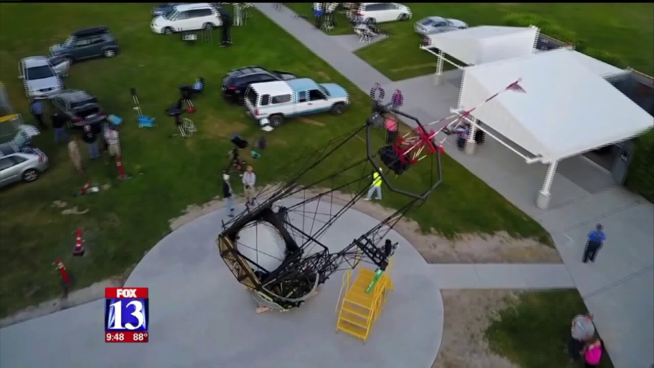 Utahns invited to gaze into world's largest amateur telescope at Stansbury ParkObservatory