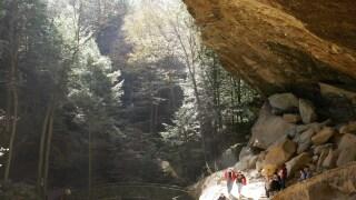 Hocking Hills Old Man's caves