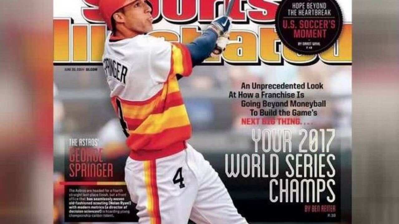 2014 Sports Illustrated magazine predicted Astros would win 2017 World Series