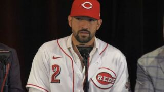 Reds' Nick Castellanos returns to ballpark where he's comfortable