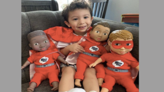 Mom Made A Line Of Dolls Just For Boys To Fight Stigma
