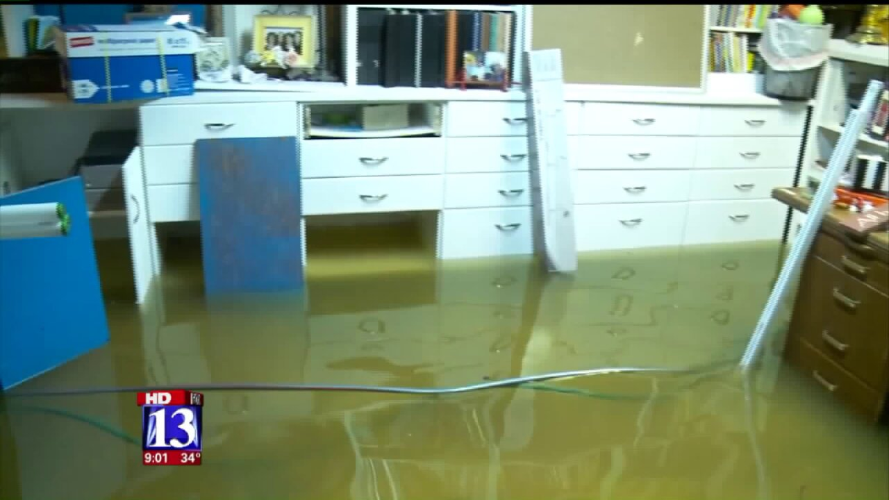 More rain, more homes flooded in Box Elder County