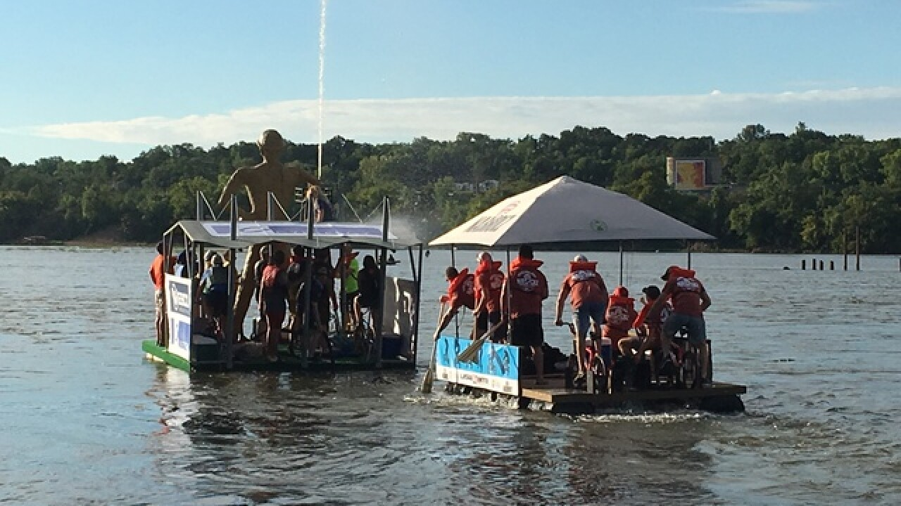 Preview: Tulsa's Great Raft Race 2018