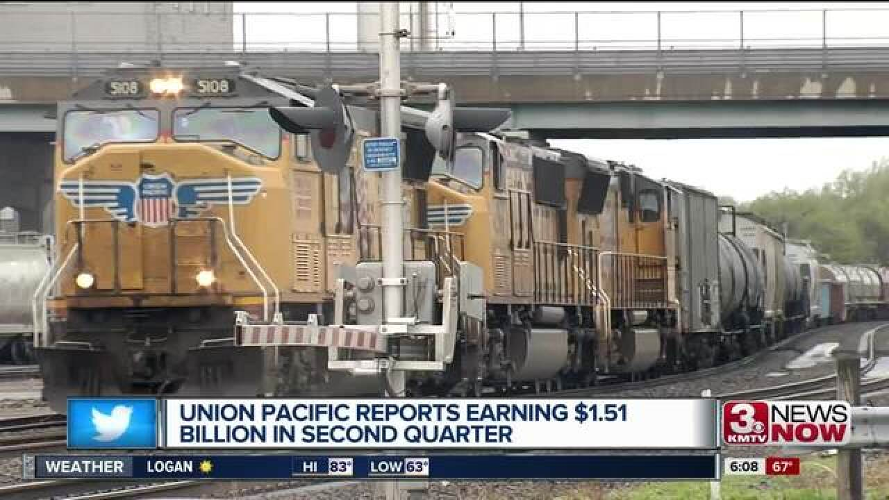 Union Pacific has record quarter