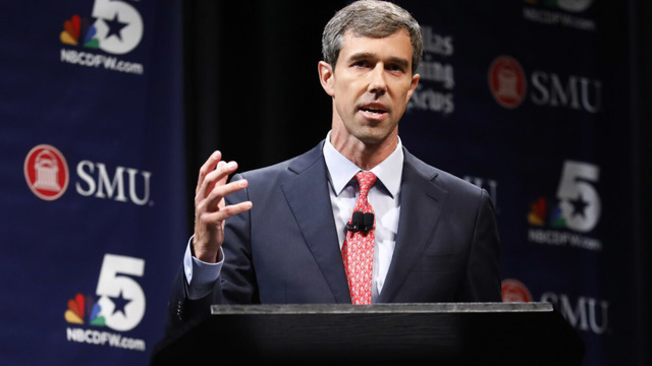 O'Rourke raises $38.1M, triples Cruz despite sagging polls