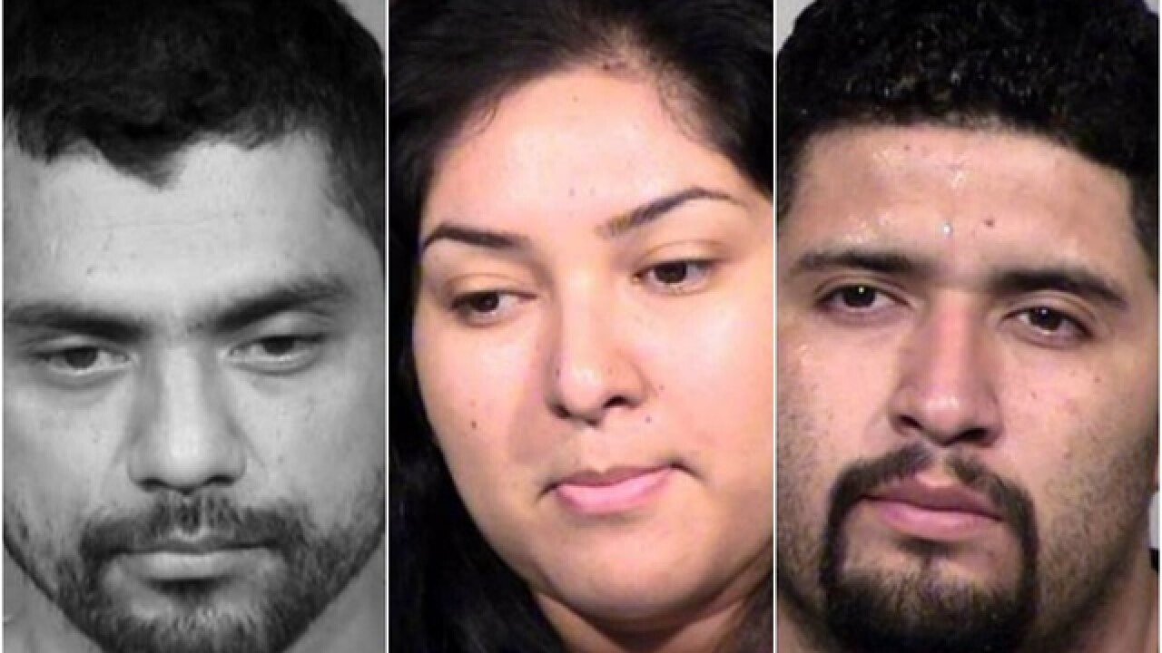 PD: Trio caught in 9 West Valley Circle K thefts