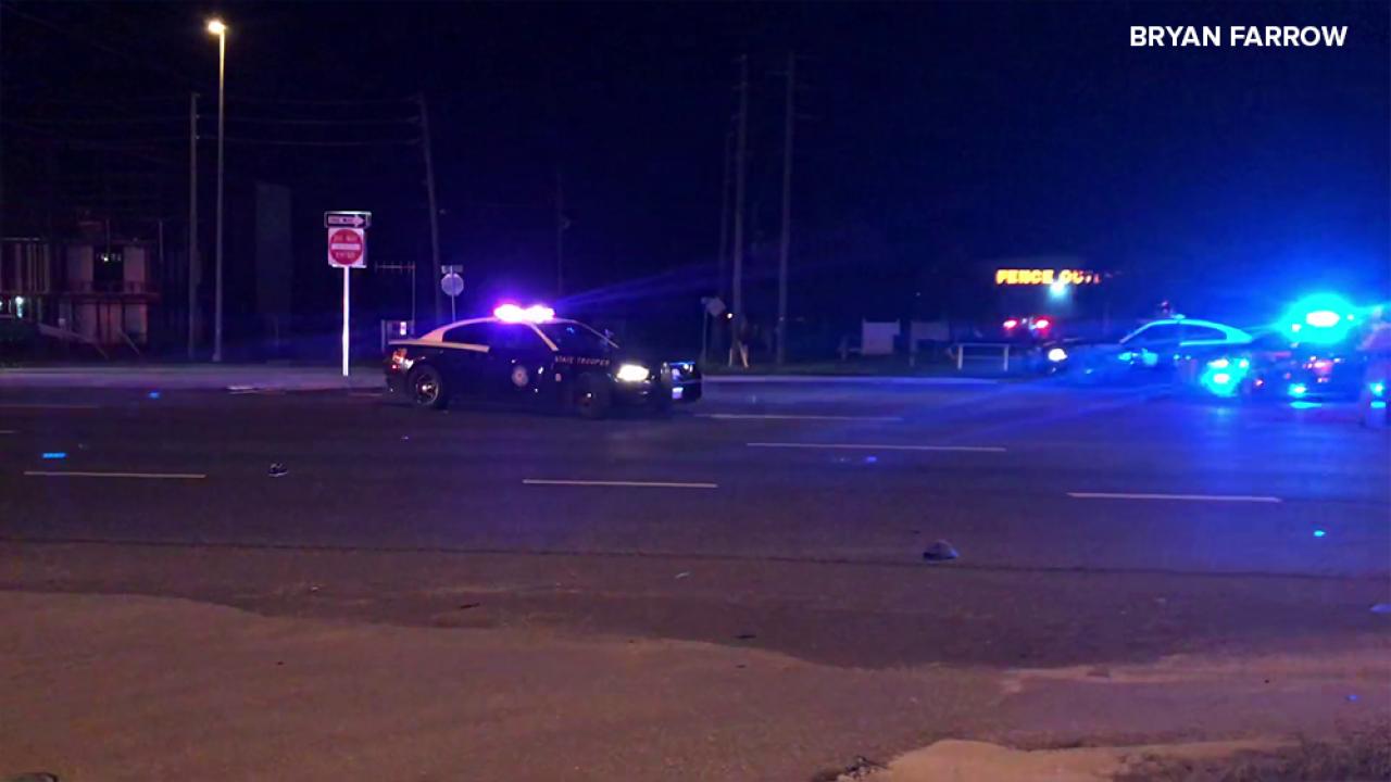 Deadly crash involving pedestrian under investigation in