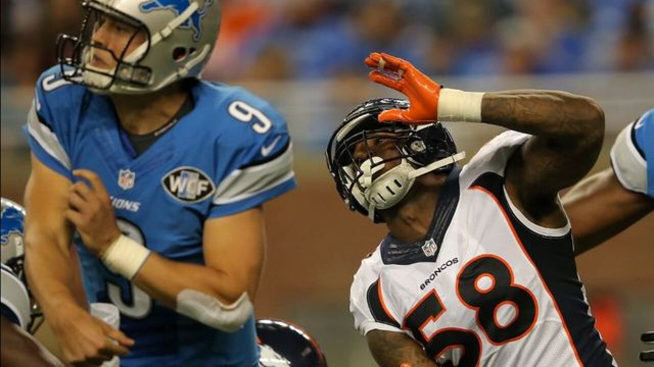 Von Miller receives gift from NFLPA meant for Matthew Stafford