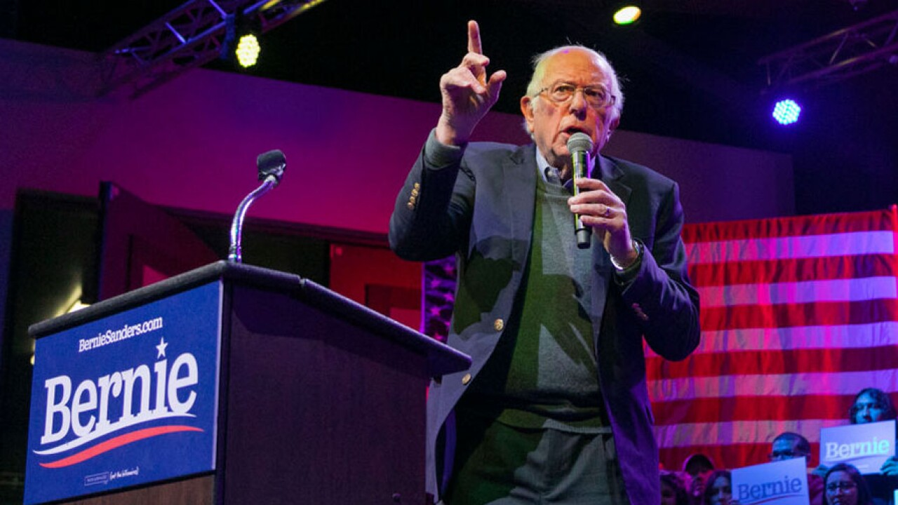 Democratic Presidential Candidate Sen. Bernie Sanders Holds Rally In Coachella Valley