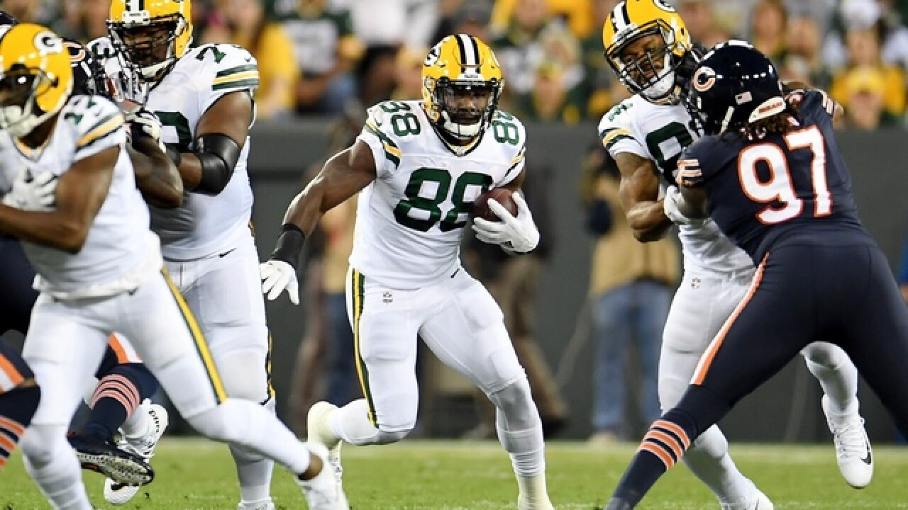 Ty Montgomery says he is preparing to play Sunday