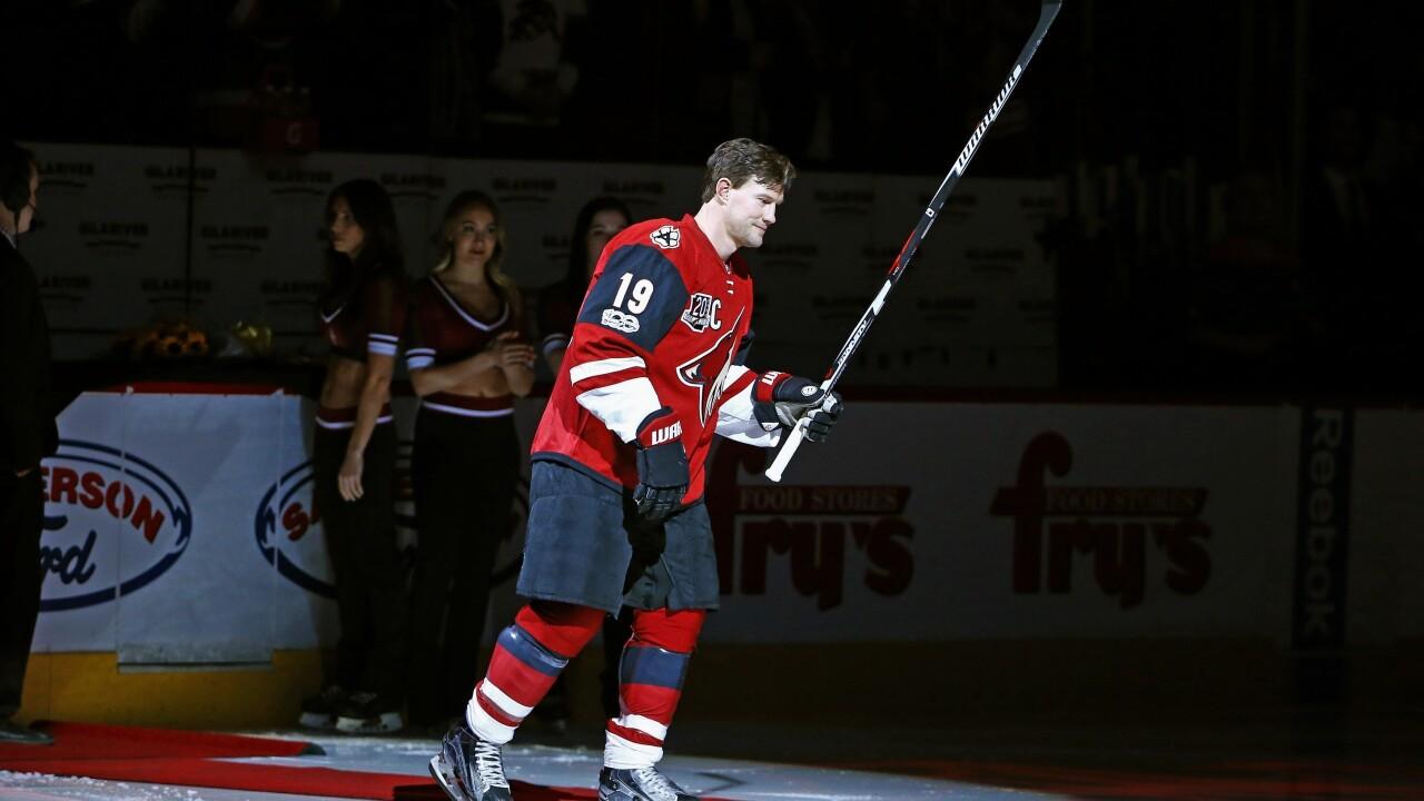 Coyotes Doan Retires Hockey