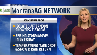 Montana Ag Network Weather: April 24th