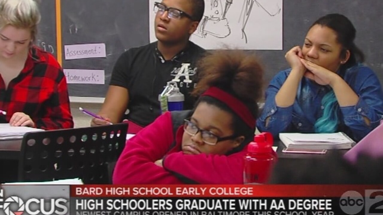 Bard HS Early College brings school to Baltimore