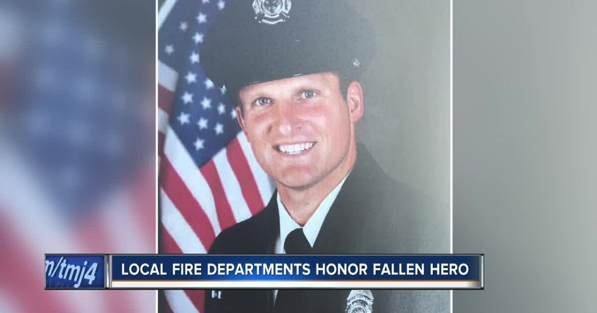 Wisconsin mourns the loss of Appleton firefighter killed in the line of duty