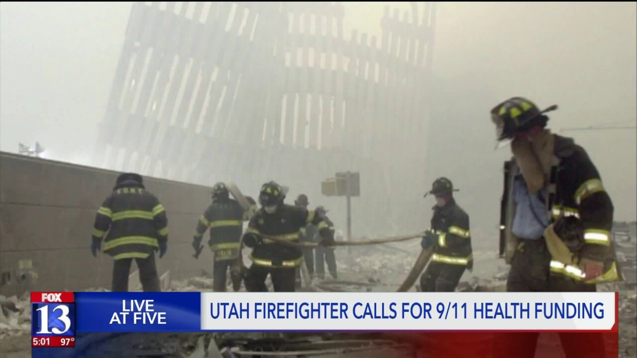 Local firefighters dealing with 9/11 health problems ask Congress to fundbill