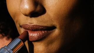 lipstick make-up cosmetics beauty woman Black face