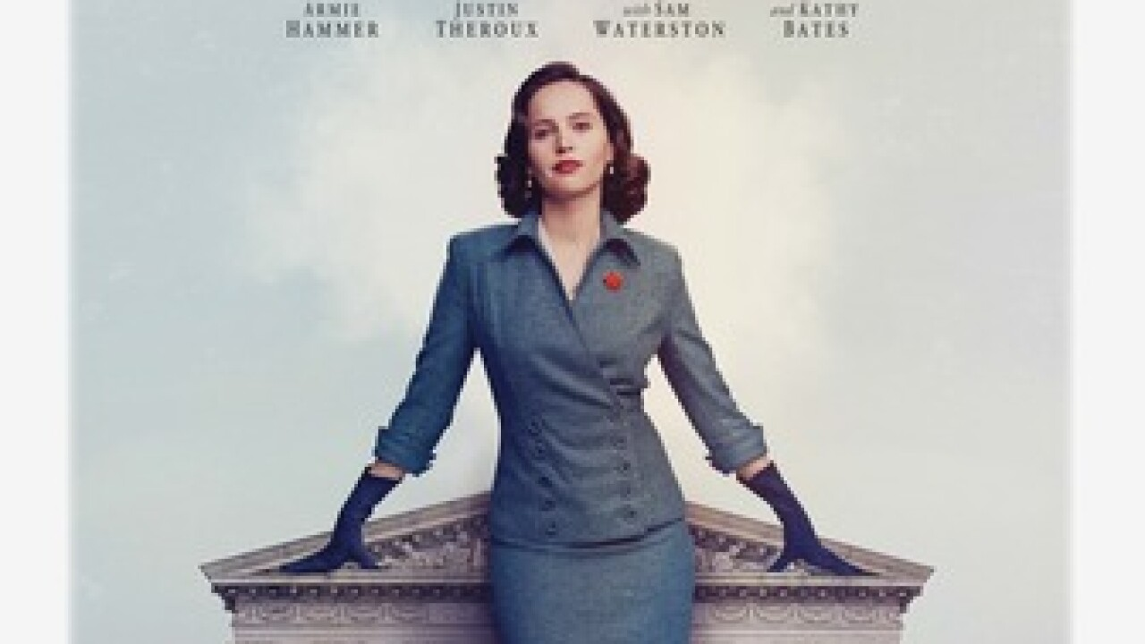 Film About Ruth Bader Ginsberg In Theaters Dec 25