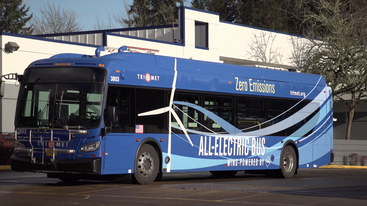 Wind-powered buses could be coming to a city near you