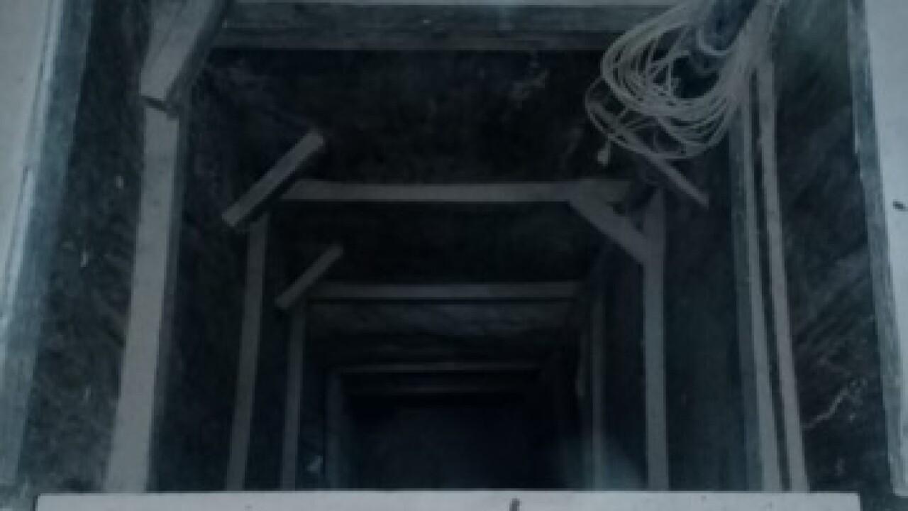 Border tunnel leading to KFC found in Yuma