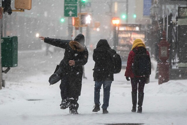 Five warning signs of hypothermia, per National Weather Service.