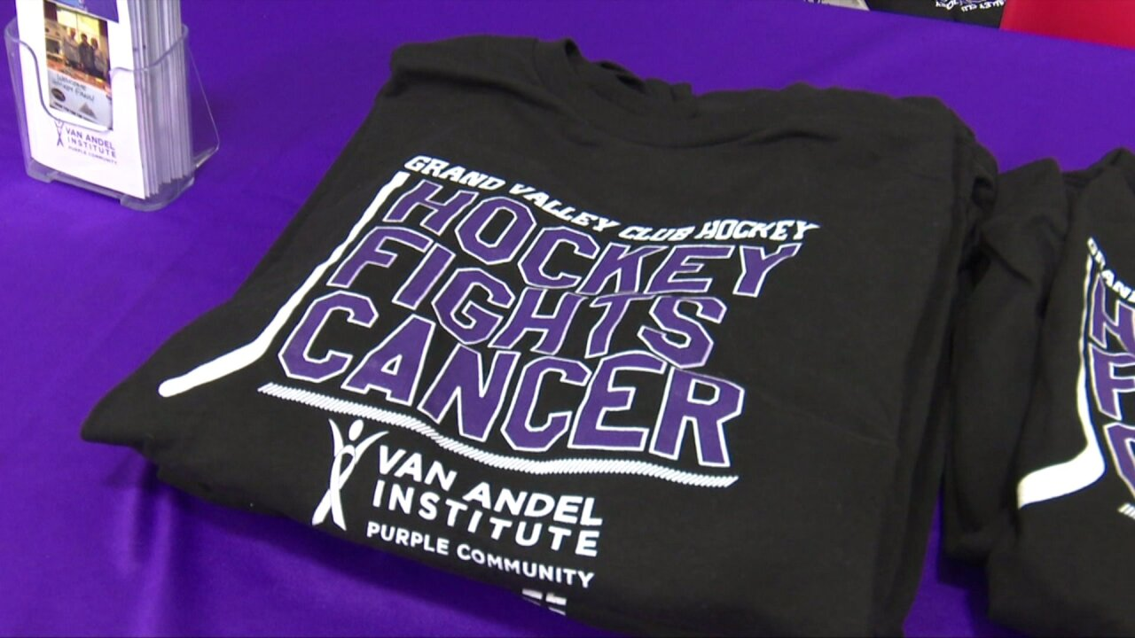 University hockey club raising money for cancer research