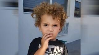 Young boy found wandering alone in Miramar