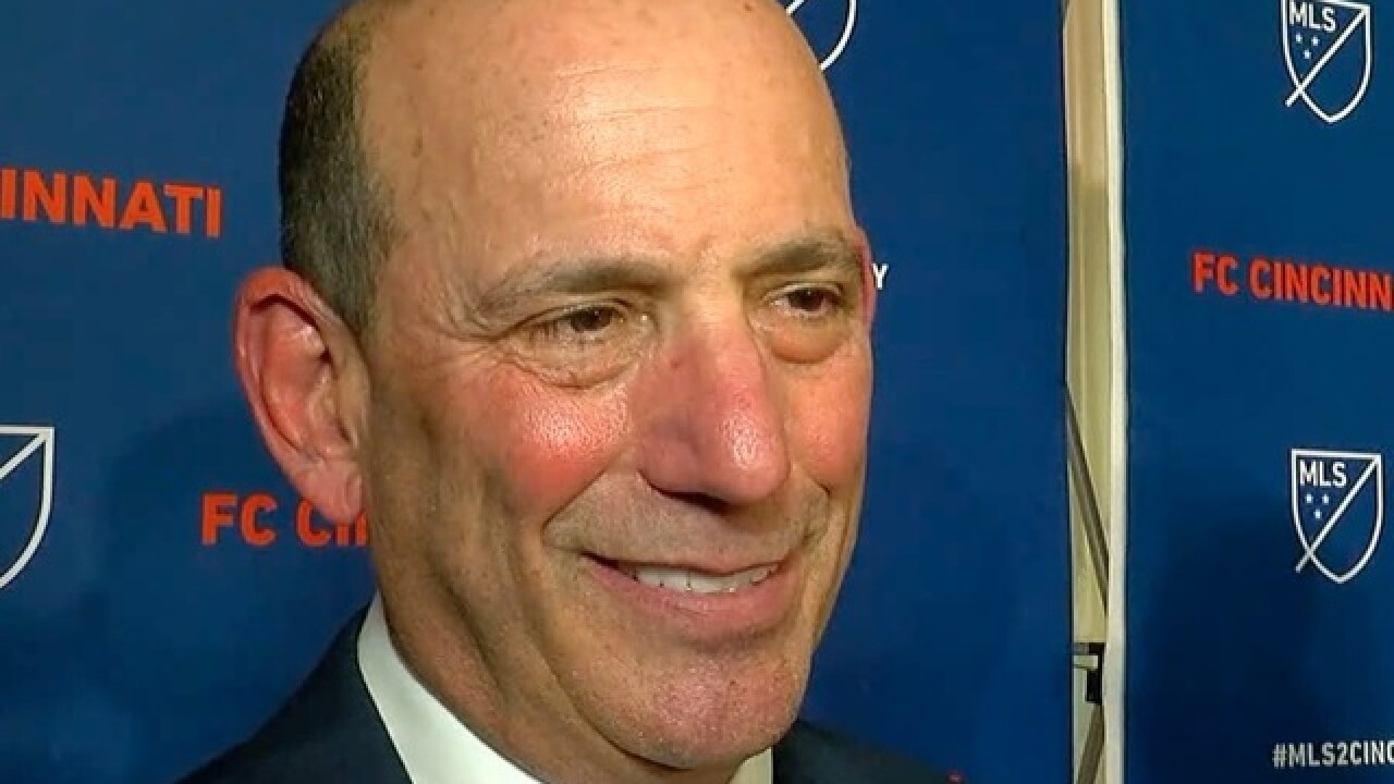 MLS Commissioner Don Garber tells WCPO what held up FC Cincinnati franchise for so long