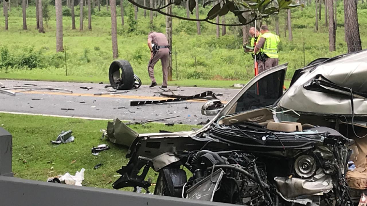 Person dies in crash involving Leon County Schools bus 3