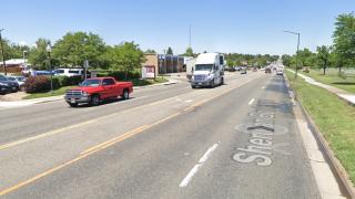 Sheridan Boulevard near Sloan Lake