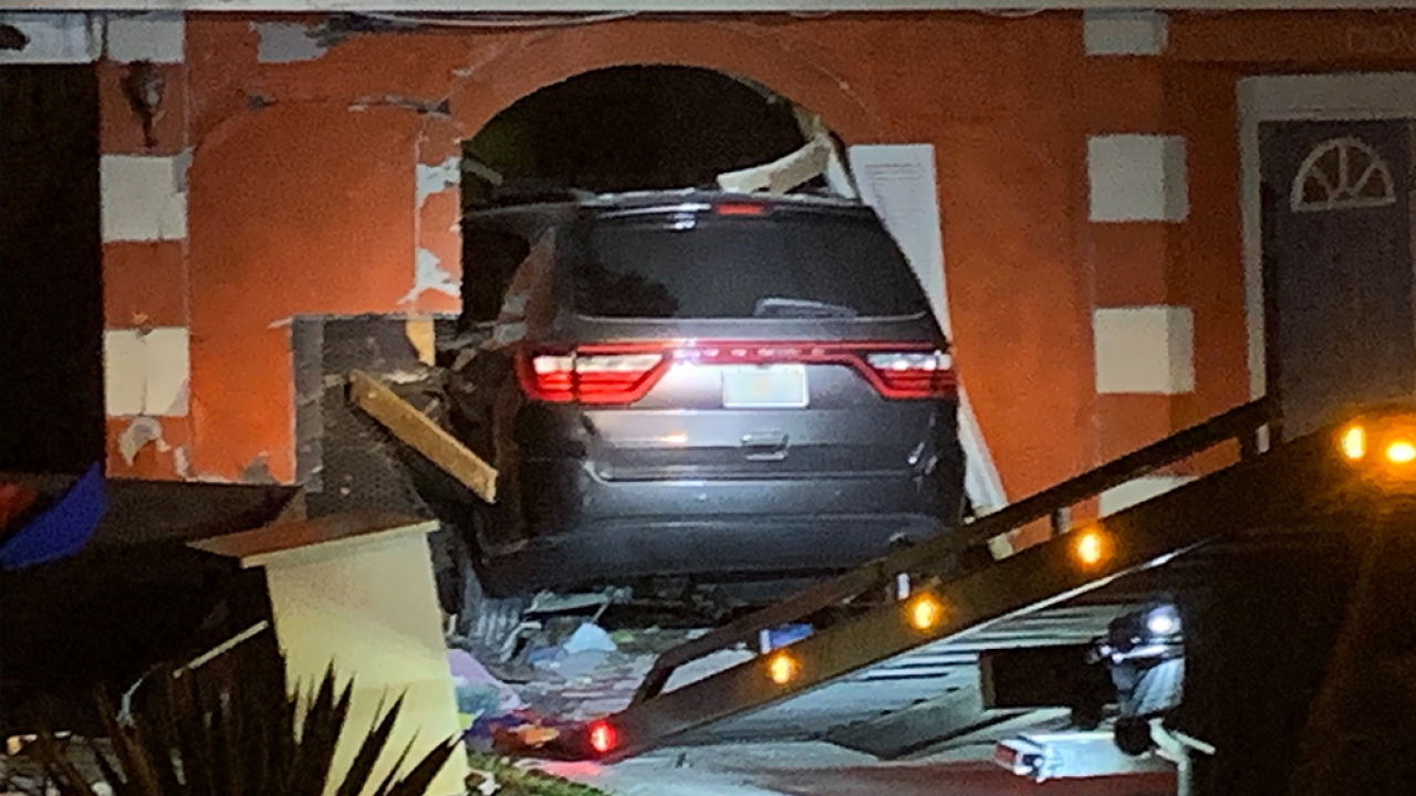 Infant and two toddlers airlifted to hospital after SUV smashes into home daycare in Florida