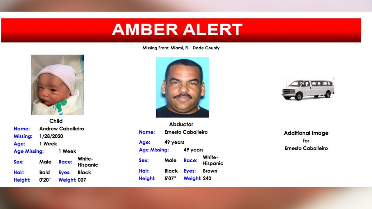 Amber Alert Issued For Newborn Boy After Triple Homicide In Florida