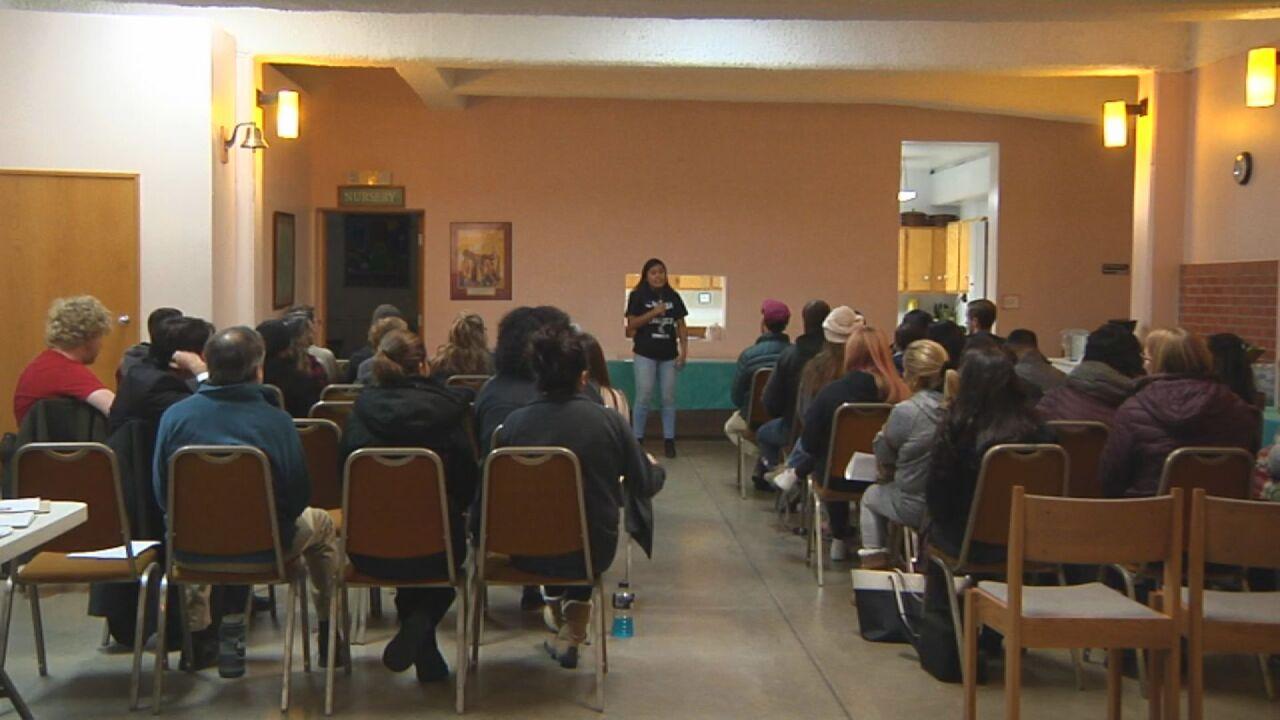 Community meeting in Colorado Springs for DACA recipients.