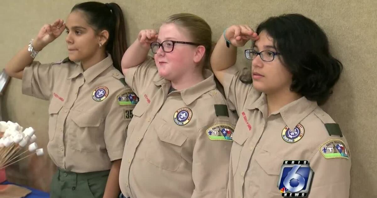 Girls can now join Boy Scouts for first time