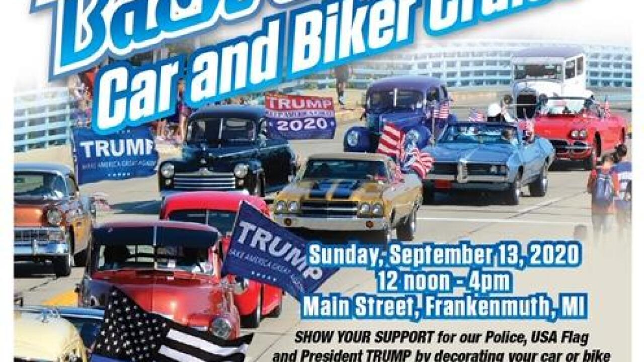 MAGA 'Back the Blue' Event